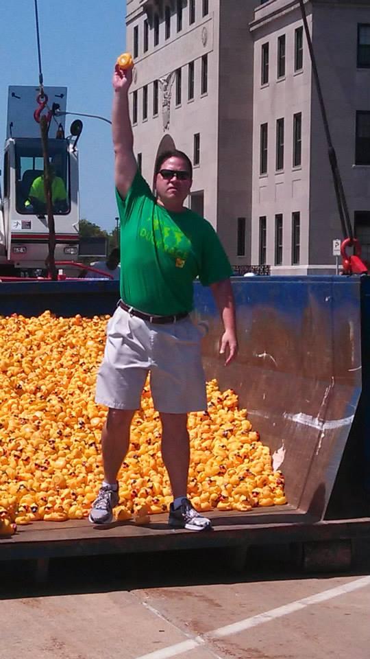 Great Eastern Iowa Duck Race week of July 19, 2013