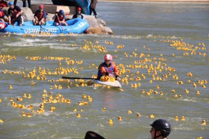 KinderMourn's Hope Floats Duck Race ins Charlotte, NC
