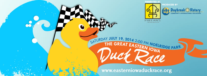 6th Annual Great Eastern Iowa Duck Race