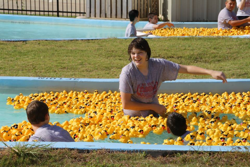 More derby duck races keep our ducks swimming through august for Keep ducks out of swimming pool