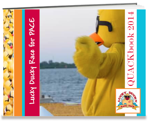 duck race promotions all year sponsor photo book