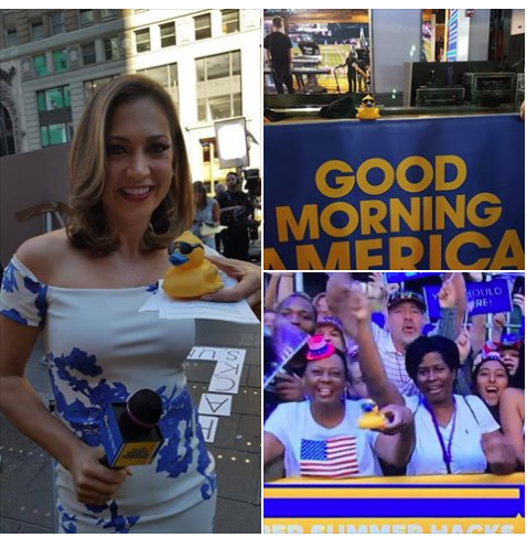 duck race promotions all year good morning america show