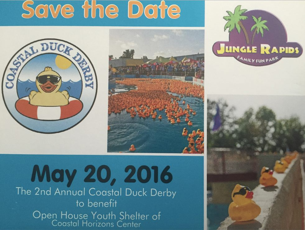 duck race promotions all year save the date