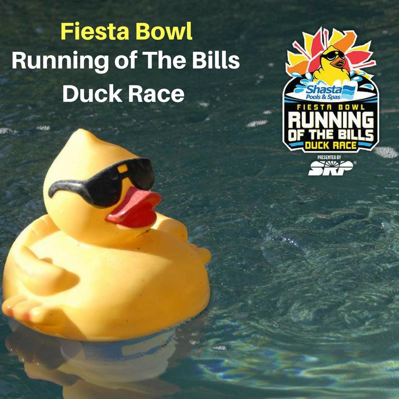 Fiesta Bowl Duck Running of The Bills Duck Race