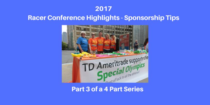 2017 Racer Conference Highlights - Sponsorship Tips