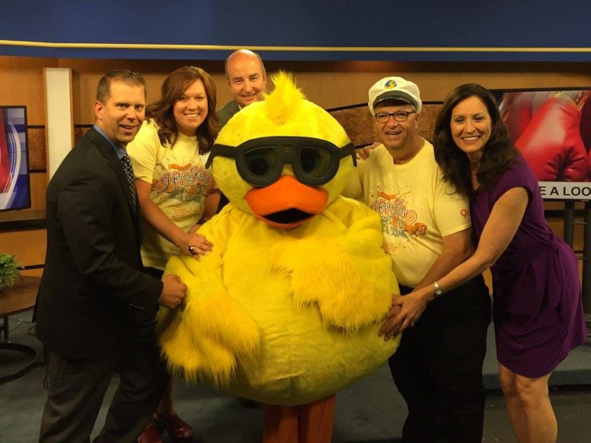 Three duck races and a turtle race - Rapid City