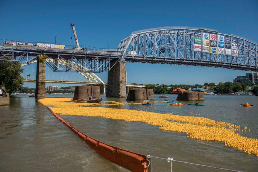 Three duck races to kick off 2017 Labor Day weekend - Cincinnati