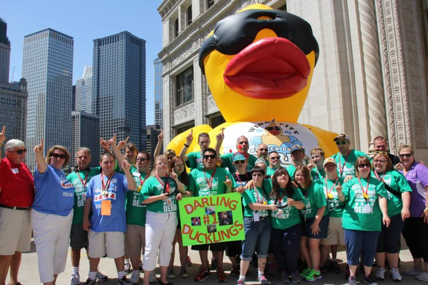 two duck races and a turtle race - Chicag