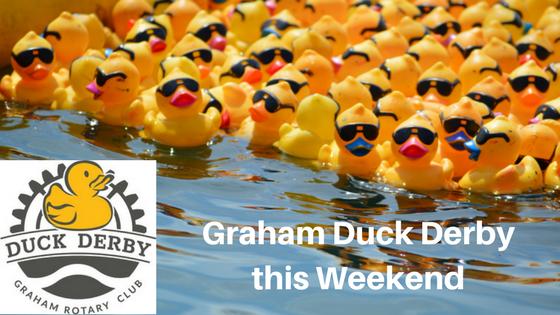 Graham Duck Derby this Weekend