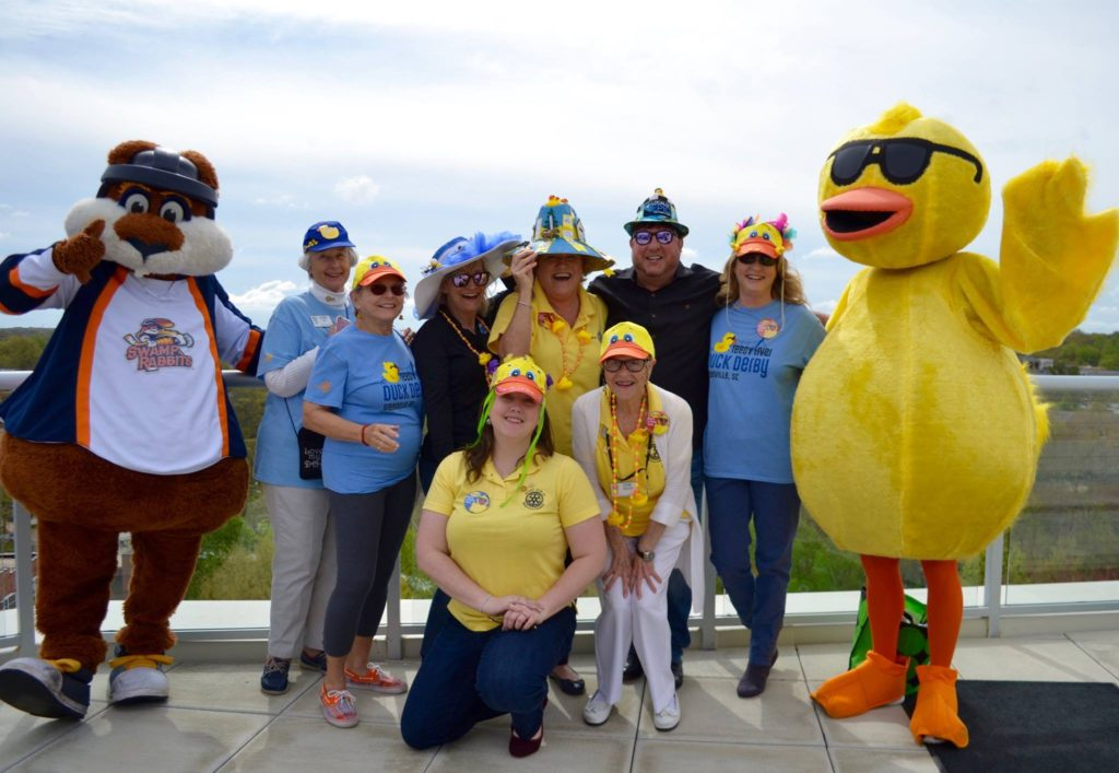 Reedy River Duck Derby on May 5, 2018