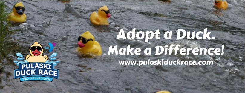 Rubber duck race, duck race, Pulaski Duck Race
