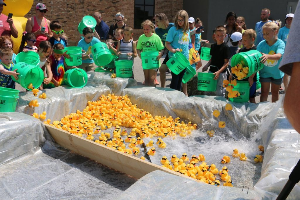 Great Eastern Iowa Duck Race- rubber duck race